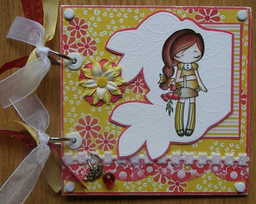 *picking flowers* Handmade Memory Scrapbook Album