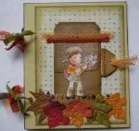 *fireworks* OOAK Handmade Autumn Bonfire Night Scrapbook Memory Album