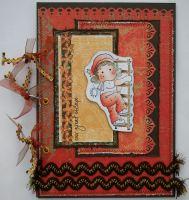*our great escape* OOAK Handmade Travel Holiday Scrapbook Photo Album