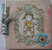 *dear ... love* OOAK Handmade Journal Album