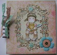 *dear ... love* OOAK Handmade Journal Album