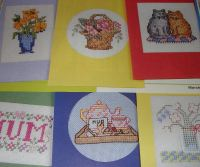 10 Cards for Mum ~ Cross Stitch Charts