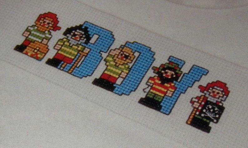 Pirates ABC Alphabet ~ 26 Cross Stitch Charts