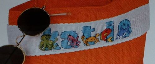 Sea Creatures ABC Alphabet ~ 26 Cross Stitch Charts
