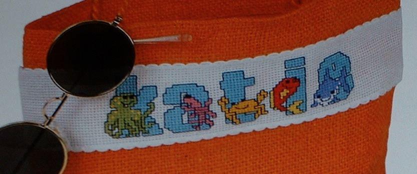 Sea Creatures ABC Alphabet ~ 26 Cross Stitch Charts