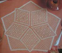 Stargazer's Mat ~ Bobbin Lace Pattern