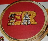 Royalty King & Queens ABC Alphabet ~ 26 Cross Stitch Charts