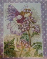 Heliotrop Fairy ~ Flower Fairies ~ Cross Stitch Chart