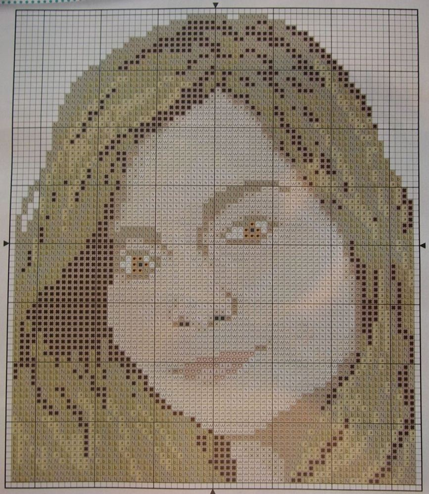 Jenna-Louise Coleman: Doctor Who Clara Oswald ~ Cross Stitch Chart