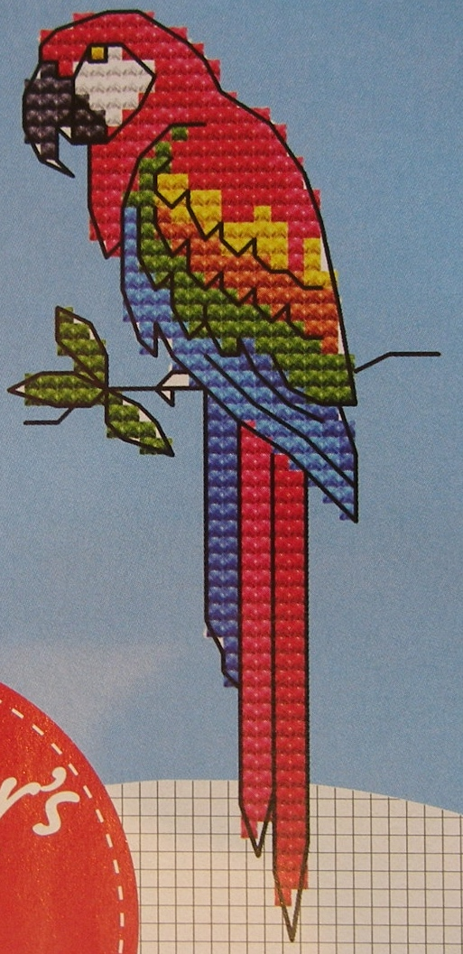 Ten Exotic Birds ~ Cross Stitch Charts