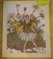 Mayweed Fairy ~ Flower Fairies ~ Cross Stitch Chart