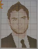 Hollywood Actor: Jude Law ~ Cross Stitch Chart