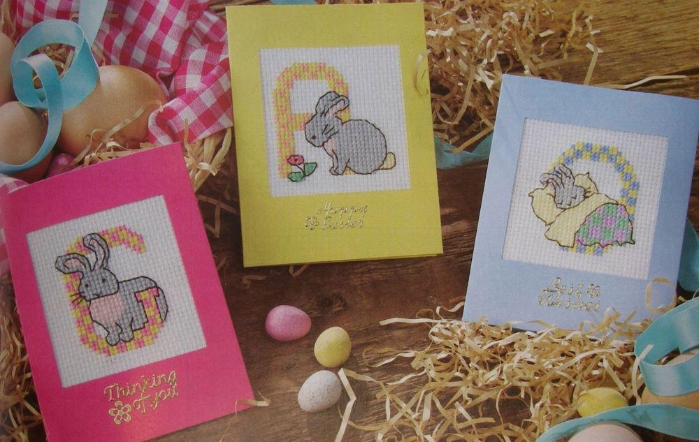 Bunny Rabbit ABC Alphabet ~ Cross Stitch Charts