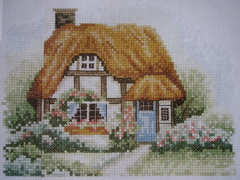 Idyllic Country Cottage ~ Cross Stitch Chart
