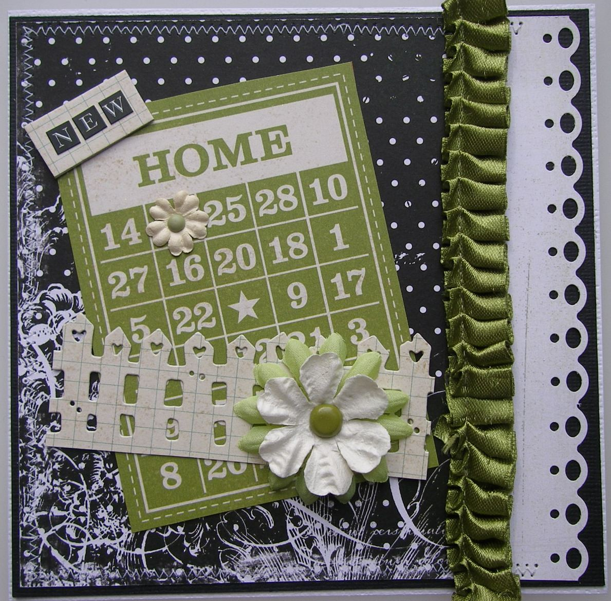 *new home* OOAK Handmade New Home Card