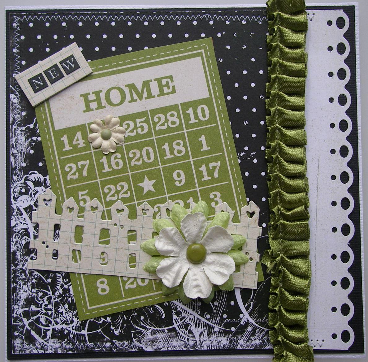*new home* OOAK Handmade New Home Card