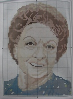 Coronation Street Actress: Betty Driver ~ Cross Stitch Chart