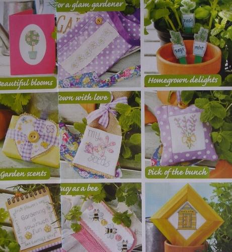 31 Gardeners Designs ~ Cross stitch Charts