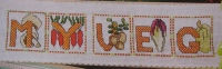 Vegetable ABC Alphabet ~ 26 Cross Stitch Charts