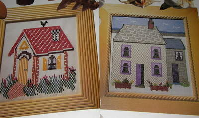 Country Cottage & House by the Sea ~ Cross Stitch Charts