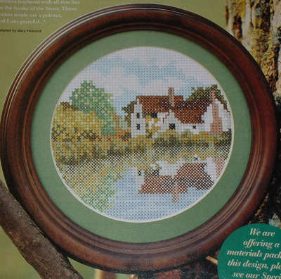 Willy Lott's Cottage ~ Constable Country ~ Cross Stitch Chart