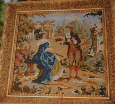 18th Century Style Portrait ~ Needlepoint Pattern