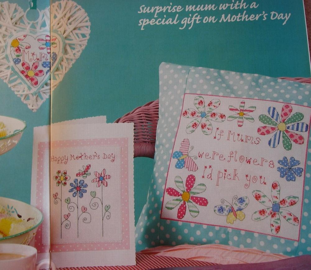If Mums Were Flowers ~ Three Cross Stitch Charts