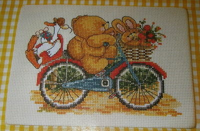 Forever Friends ~ Cycle Ride: Cross Stitch Chart