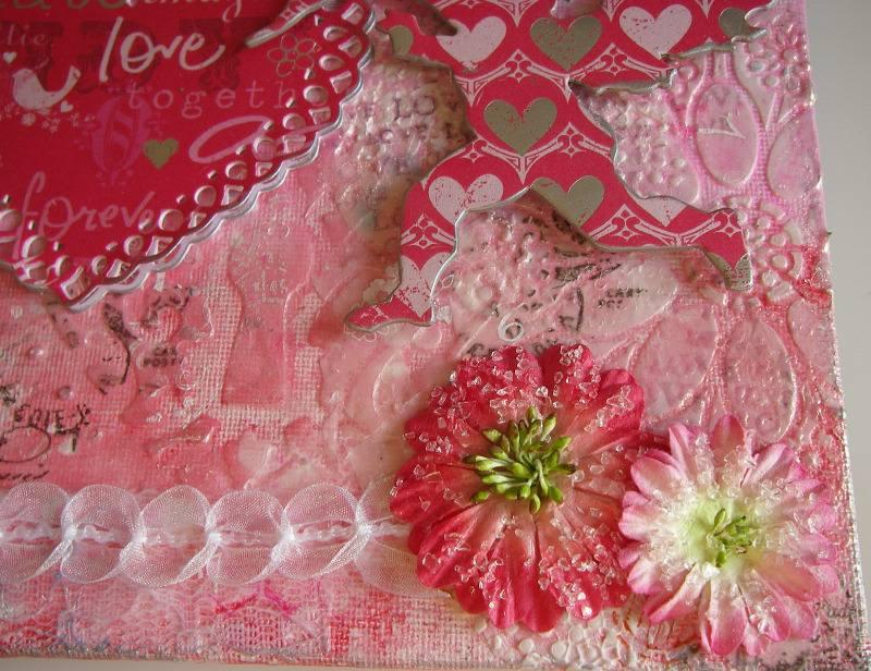 100 hearts flowers