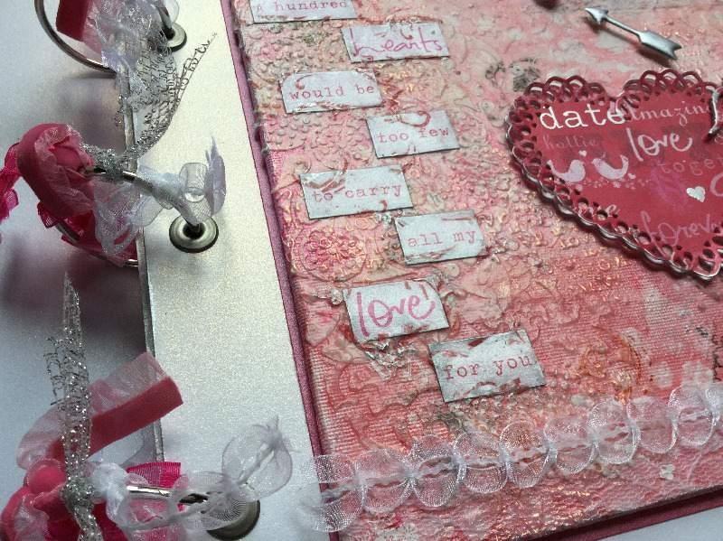 100 hearts binding