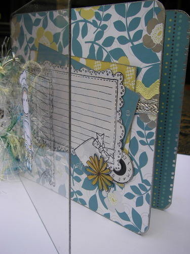 Chef Tilda Standing Recipe Scrapbook Album