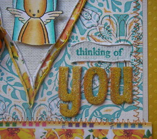 *thinking of you* handmade scrapbook you