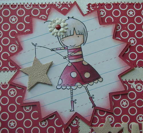 *wish upon a star* handmade scrapbook photo album image