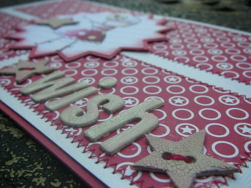 *wish upon a star* handmade scrapbook album