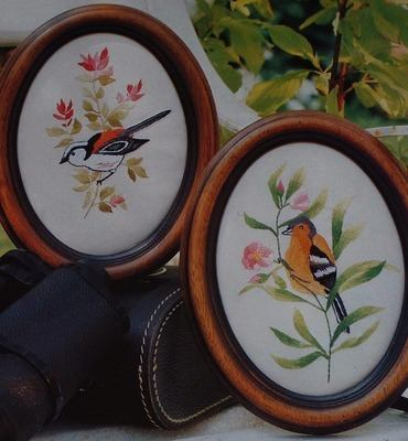 Chaffinch & Long Tailed Tit - Embroidery Pattern