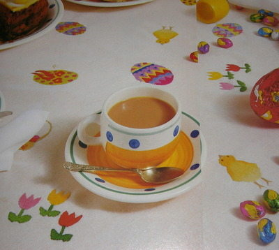 Easter/Spring Tablecloth & Napkins - Pattern