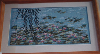 Summer Waterlilies ~ Cross Stitch Chart