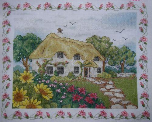 English Country Cottage ~ Cross Stitch Chart