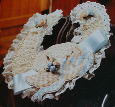 Wedding Lucky Horseshoe Favour: Cross Stitch Chart