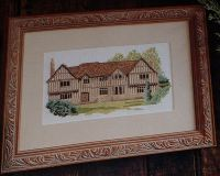 English Manor House ~ Cross Stitch Chart