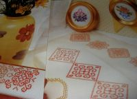 Three Posies & Two Geometric Motifs ~ Five Cross Stitch Charts