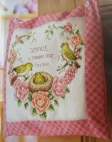 Chickadee Birth Sampler ~ Cross Stitch Chart