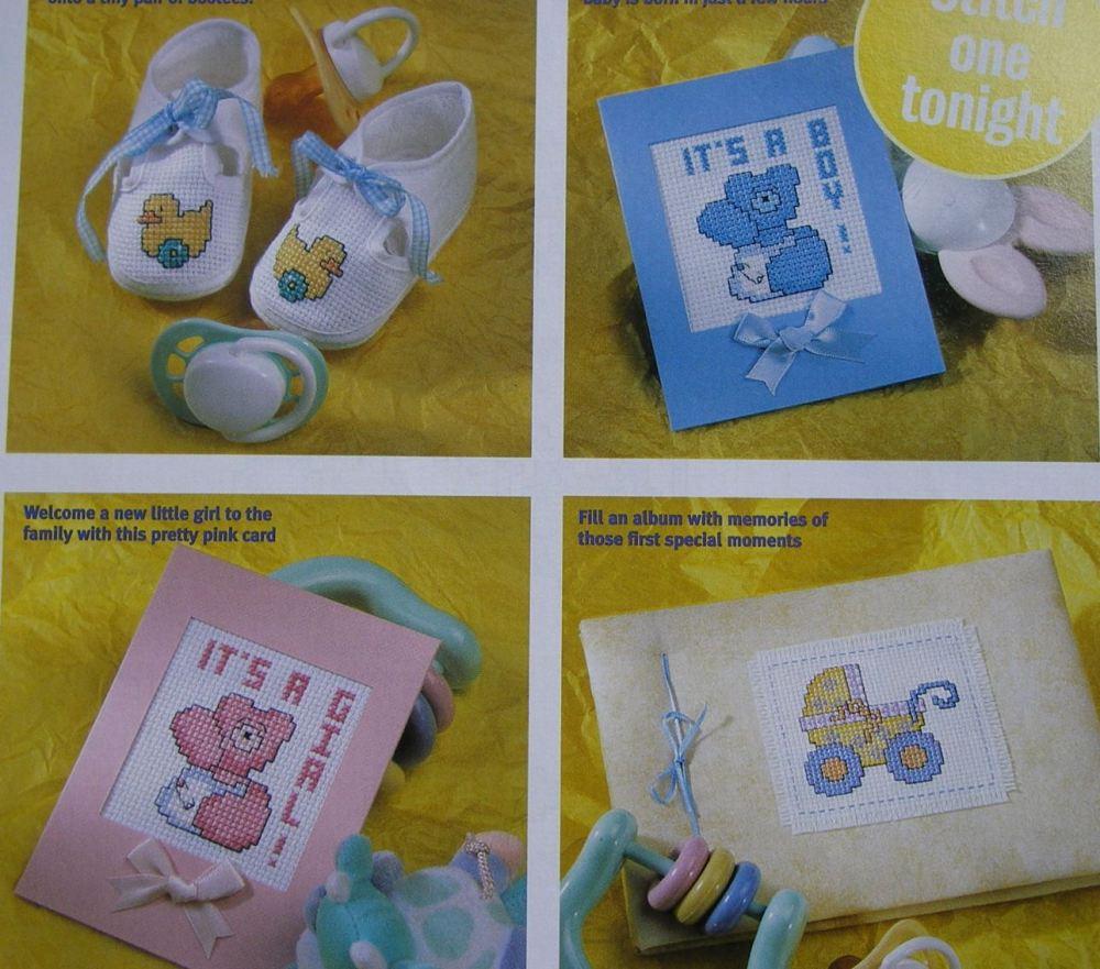 30 Cute Baby Designs ~ Cross Stitch Charts