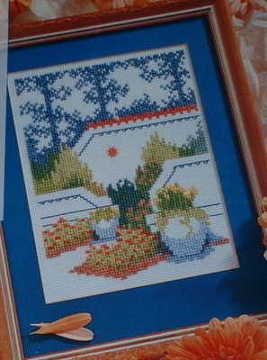 Relaxing Refuge Garden - Cross Stitch Chart