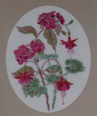 Summer Pinks ~ Cross Stitch Chart