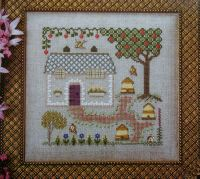 Elizabeth's Designs ~ Bee Keeper's Cottage: Cross Stitch Chart Booklet