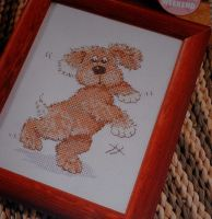 Snatch the Dog ~ Cross Stitch Chart