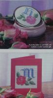 Roses ABC Alphabet ~ 26 Cross Stitch Charts
