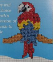 Ten Colourful Birds ~ Cross Stitch Charts