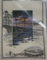 Derwentwater Designs: Sunsets Pinetree Bay TWL02~ Cross Stitch Kit